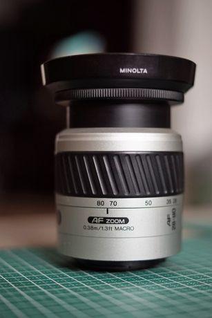 Obiectiv Minolta AF 28-80 1:3.5-5,6, Sony A