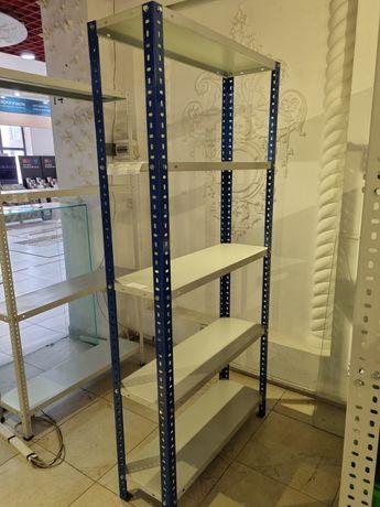 Стеллаж складской для магазинов и бутиков стелаж