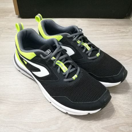 Încaltaminte KALENJI Jogging Run Active VERDE/NEGRU Barbati