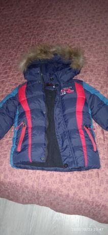 Продам куртку на мальчика 4-5 лет