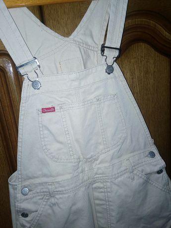 Pantalon jeans original scurt cu breţele