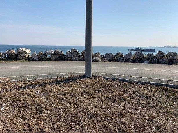 Teren prima linie la mare, deschidere 3 strazi asfaltate, plaja