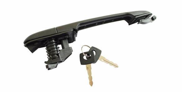 Дръжка за врата на мерцедес спринтер,вито, vw-lt с патрон и два ключа