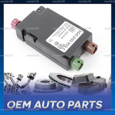 Modul HUB USB CarPlay VW Passat B8 Golf 7 5G0035953D sau 5G0035953C