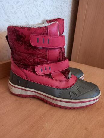 Детская обувь сапожки на дев.