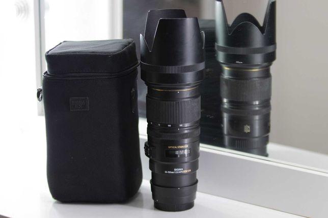 Sigma 50-150mm f/2.8 EX DC OS HSM APO Canon объектив Нур-Султан