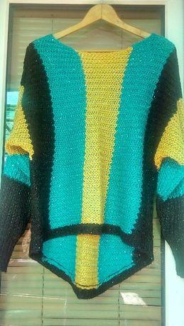 Пуловер -туника