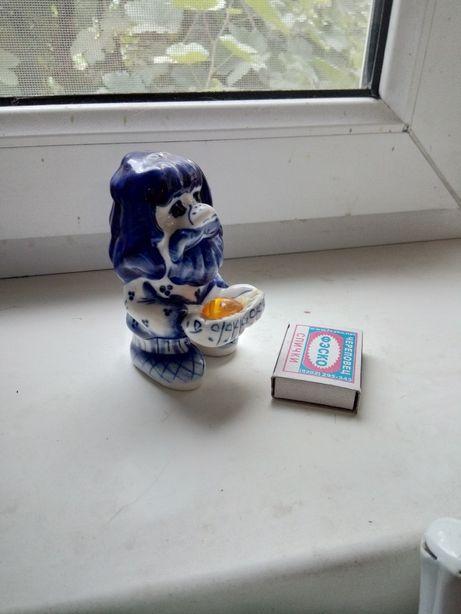 статуэтка сувенир гжель домовой