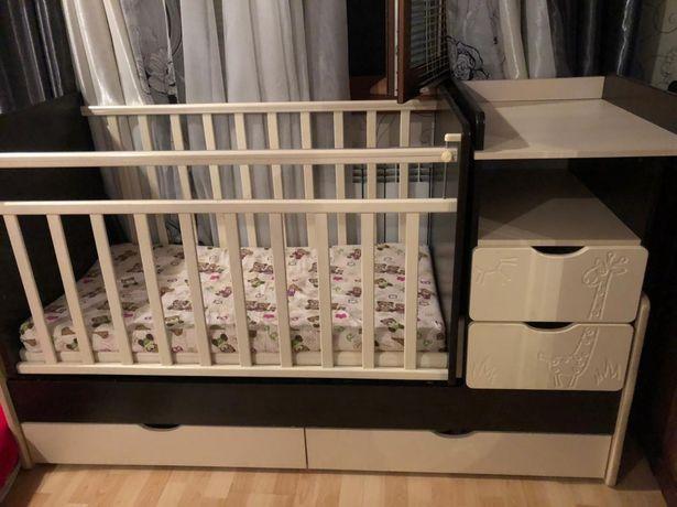 Кровать детская с шкафом