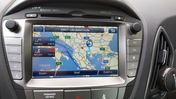 СД карти за навигация Киа и Хюндай за цяла Европа България Hyundai KIA