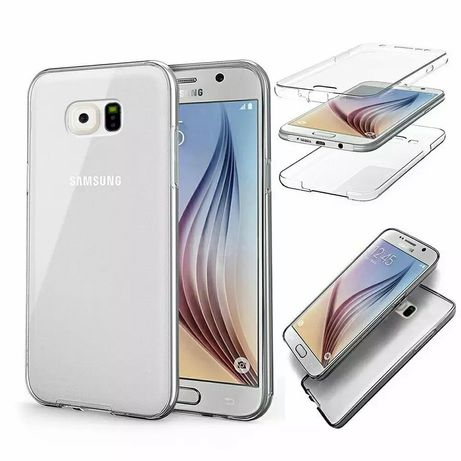 Силиконов 360° Градуса Кейс за Samsung Galaxy S6 Edge / S6 Edge+