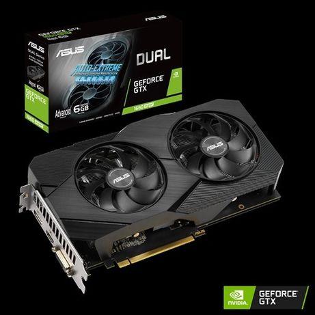 Видеокарта ASUS GeForce GTX 1660 Super Dual Evo Advanced 6GB