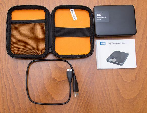 Външен диск Western Digital My Passport Ultra 2.5 4TB USB 3.0
