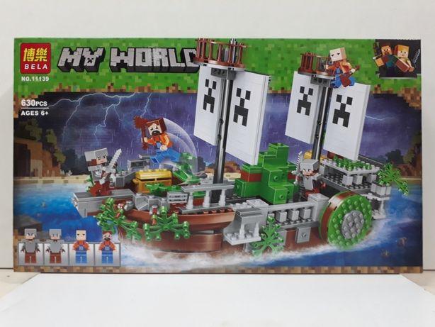 Конструктор bela Minecraft/Майнкрафт/лего/Lego/Kaspi RED/Рассрочка