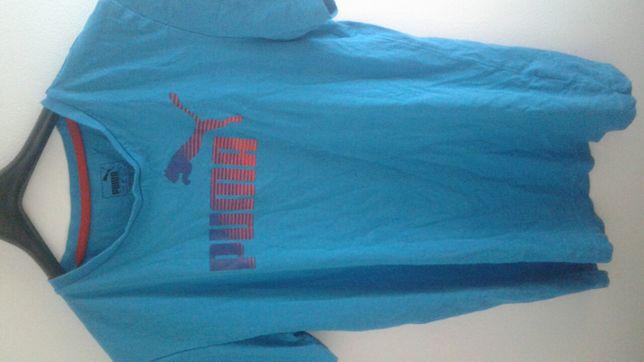 Tricou Puma Blue