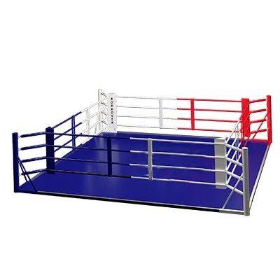 Ринг боксерский на раме 5м х 5м (боевая зона 4м х 4м)