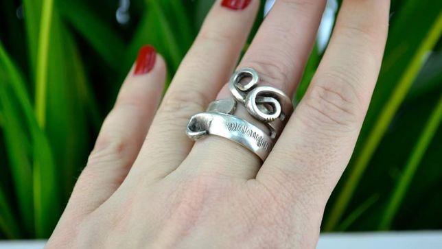 Inel argint vechi Interbelic Handmade Germania Anii 30