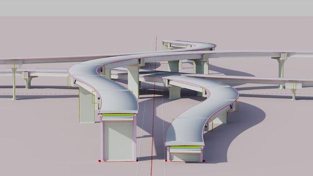 Realizez desene si cantitati pentru poduri pe grinzi din beton