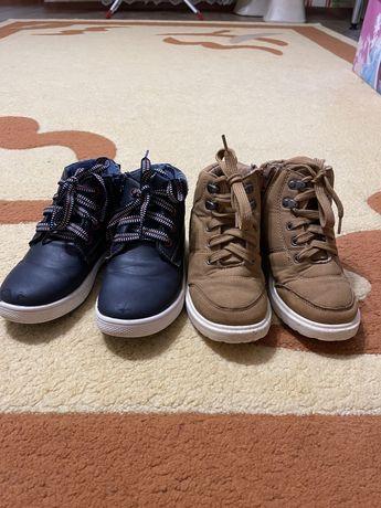 Осенние стильные ботиночки унисекс
