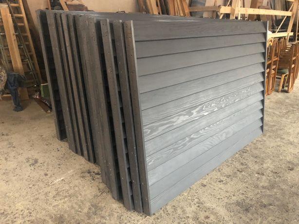 Gard lemn masiv 200/180