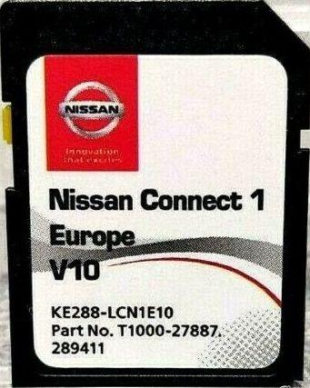 Ново NISSAN Connect 1 (LCN1) V10 MAPS SD CARD 2020-2021 сд карта Нисан