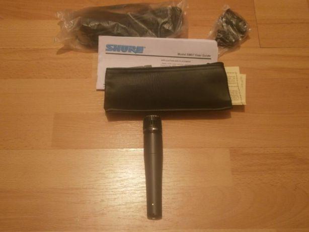 Microfon Shure SM57 pentru instrumente muzicale