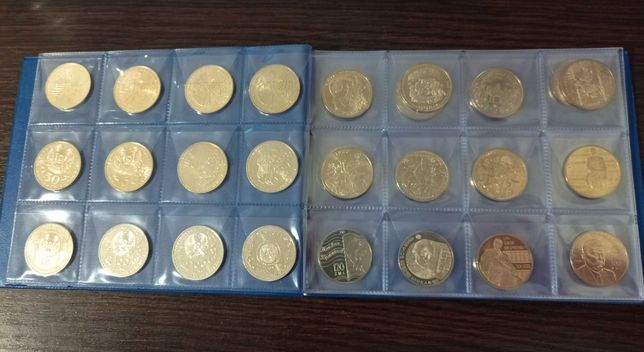 Юбилейные монеты Казахстана 29шт: животные, космос, обряды, сказки