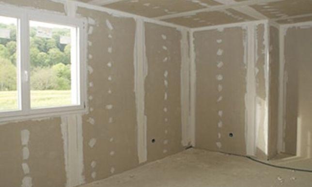 Левкас стен, выравнивание стен, закатка, побелка, помидоры