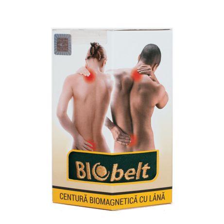 Biobelt centură biomagnetică pentru dureri de spate, reumatism