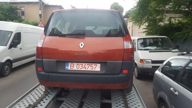 Dezmembrez renault scenic 2 1.6 16v,1.4 16v si 1.5 diesel an 2005