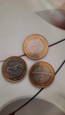 Продам коллекционные монеты 100 тенге