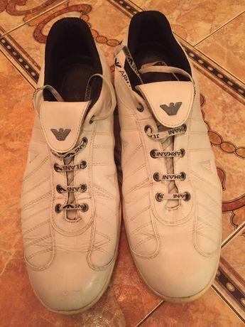 Armani спортни обувки от естествена кожа