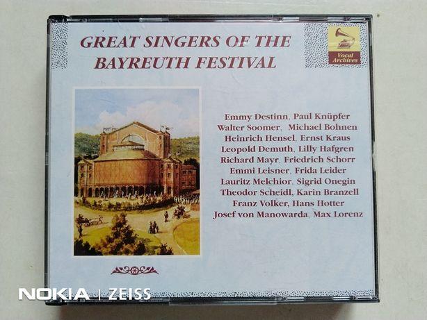 Cd-uri rare , muzica clasica- Great Singers of Bayreuth Festiva