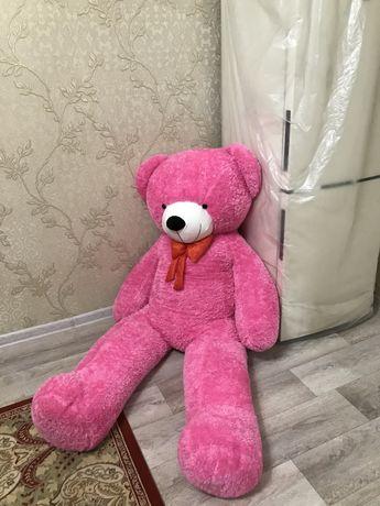 Мишка розовая рост: 1,90