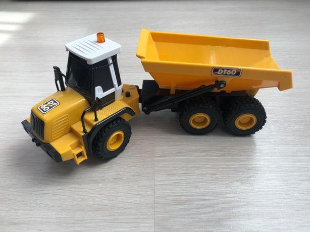 Tractor cu remorca Cool Machines cu sunete si lumini.