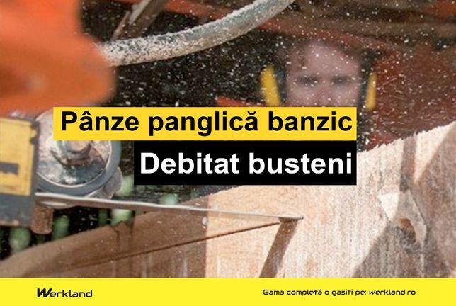 Panze panglica banzic busteni 4400x35x1.00x22.22   Made in Germany