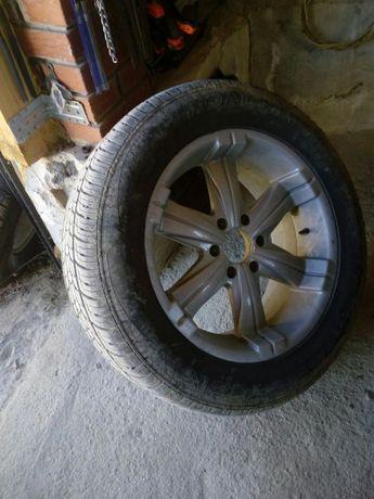 Джанти и гуми комплект за джип 20 цола 6х139.7