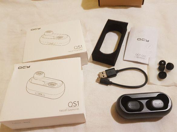 Bluetooth безжични слушалки QCY QS1