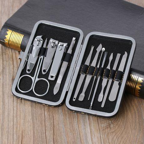 Несесер Комплексна грижа за нокти, ножичка за вежди