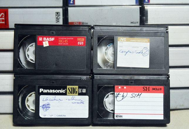 Casete video VHS C 8mm mini DV