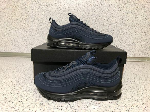 ОРИГИНАЛНИ *** Nike Air Max 97 Leather / 'Obsidian Blue '