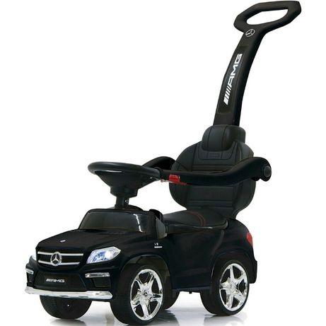 Masinuta cu maner pentru copii 3 in 1 Mercedes GL63 AMG PREMIUM #Negru