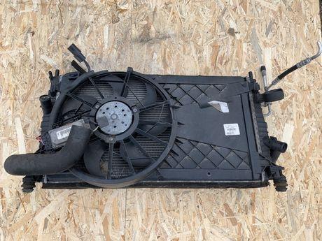 Electroventilator rafiator apa clima intercooler ford focus 2 1.6 tdci