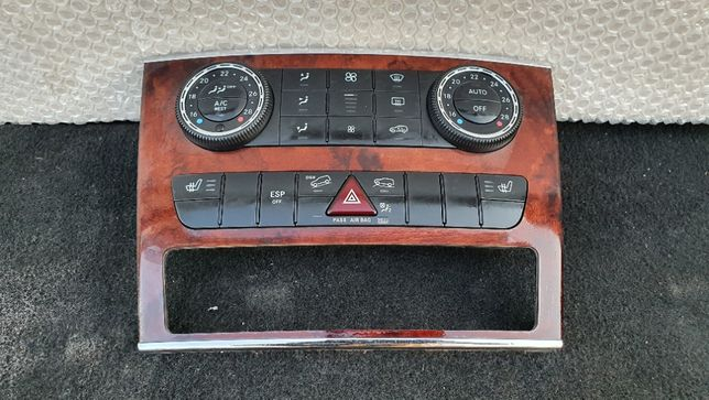 panou clima ac climatronic Mercedes ML W164 ML320 ML280 fata spate