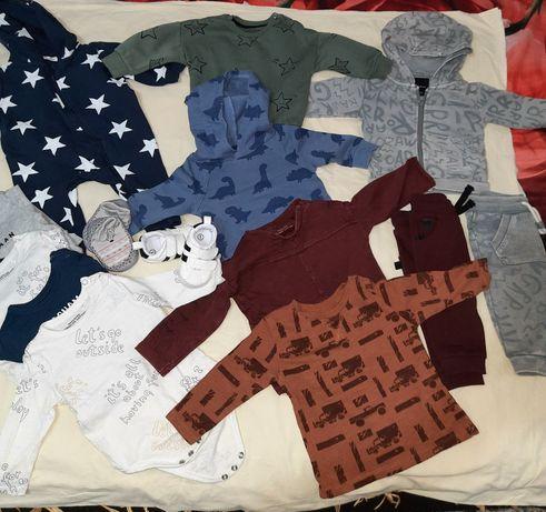Lot haine baiat m 68 ( 3-6luni)