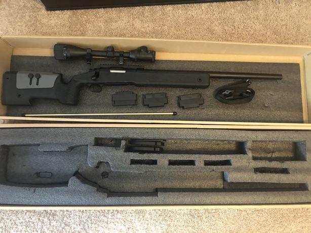 Pusca sniper airsoft CM700