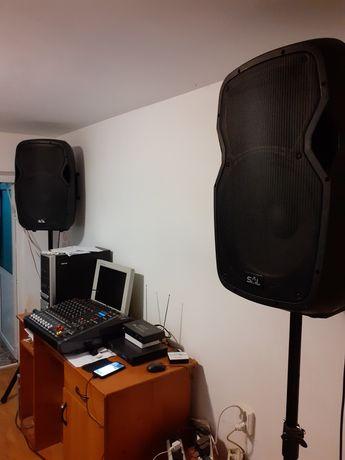 DJ. Sonorizare, lasere ,