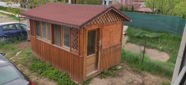 Casuta de lemn, Cabana de lemn