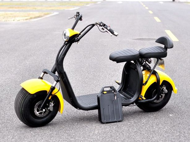 Scuter Harley City coco Trotineta ELECTRICA Scooter Electric E-BIKE ‼️