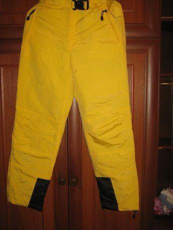Теплые женские спортивные брюки, фирма Reebok, 46 р-р
